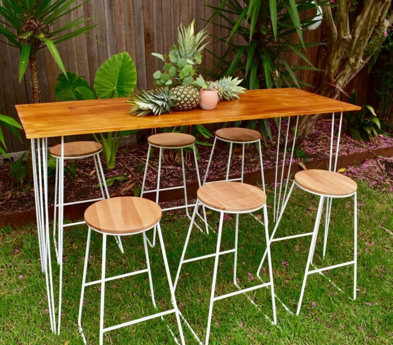 High Bar Table Long 1 available 1.8m x 60cm $65
