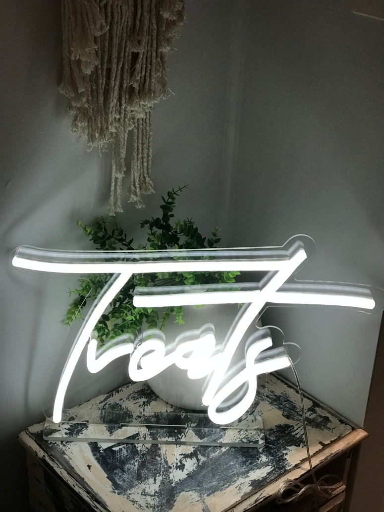 Treats Neon Light with stand 1 available $80
